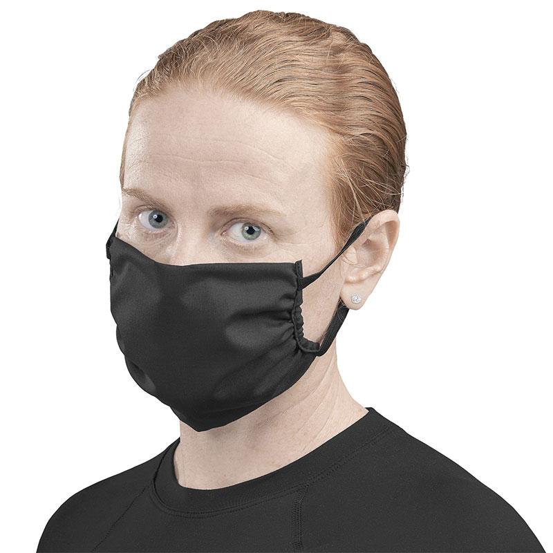 Eva & Elm Adult Polycotton Face Mask - Black Only - Single